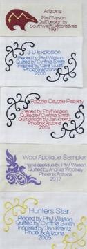 5 quilt labels