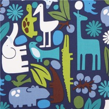 Alexander Henry Zoo fabric