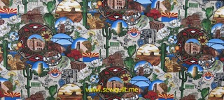 Arizona Centennial fabric
