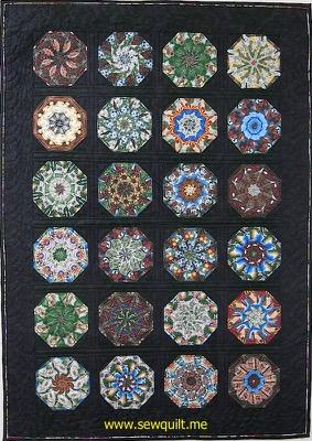 Arizona Centennial Kaleidoscope quilt