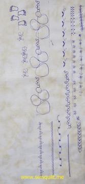 Bernina stitch designer class