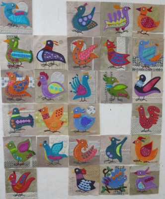 Bird Dance blocks 1 - 27