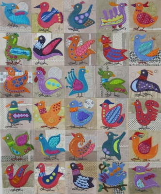 Bird Dance blocks 1 - 30