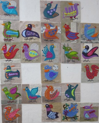 Bird Dance blocks 1 -24