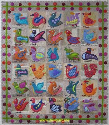 Bird Dance Quilt
