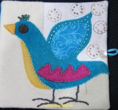 Bird needle case