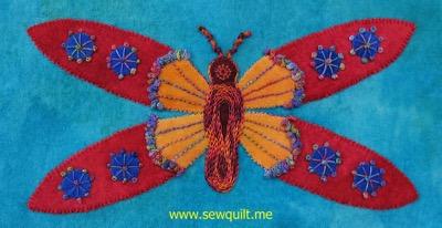 Block 1 butterfly