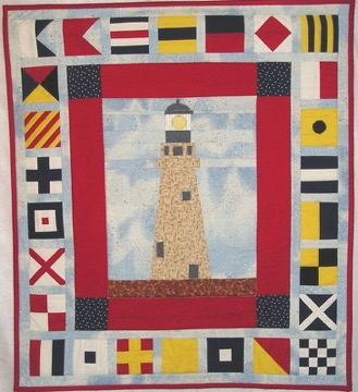 Buffalo Light House quilt