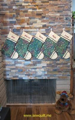 Christmas stockings 2015