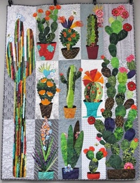 collage cactus