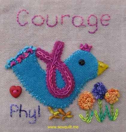 Courage block