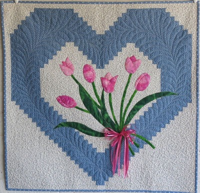 Lucie's Heart Quilt