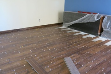 Master bedroom tile