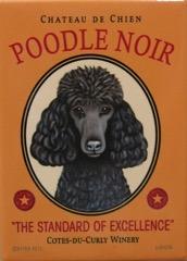 Poodle Noir