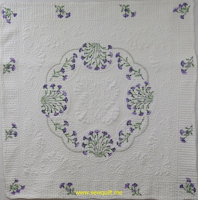 Purple Daisy Quilt