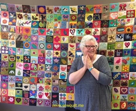 Quilt for Sue Spargo