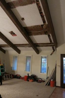 Remodel ceiling