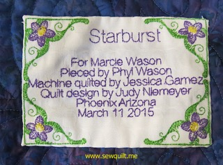 Starburst Label